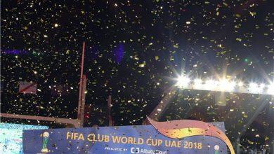 صورة ريال مدريد بطلا لكأس العالم للأندية للمرة الثالثة على التوالي