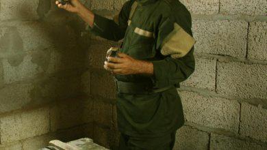 صورة الحزام الأمني في لحج يضبط شحنة أسلحة قادمة من مأرب وفي طريقها إلى عدن