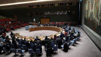 صورة مجلس الأمن يصوت بالإجماع على قرار بريطاني أمريكي داعم لاتفاق السويد