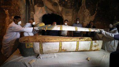 صورة الكشف عن مقبرة أثرية تعود إلى عصور مصر القديمة