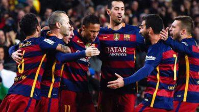 صورة اليوم..تشكيلة برشلونة أمام إسبانيول