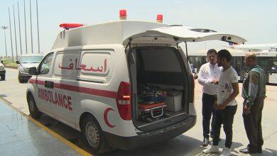 صورة بدعم إماراتي .. 48 من جرحى الساحل الغربي يغادرون عدن لتلقي العلاج بمستشفيات الهند