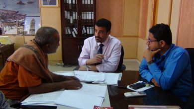 صورة المحافظ سالمين يوجه بسرعة استكمال اعمال المشاريع المتعثرة بمنطقة بئر أحمد