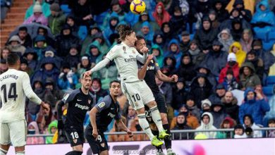 صورة ريال مدريد يضرب حصون إشبيلية بثنائية متأخرة