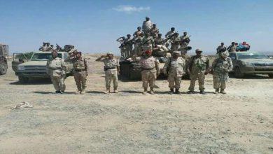 صورة حزام لحج يكشف حقيقة ضبط شحنة اسلحة كانت في طريقها الى يافع