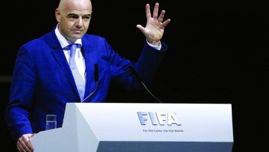 صورة إنفانتينو : قطر لا تستطيع تنظيم مونديال 2022 بمفردها