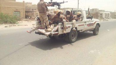 """صورة بدعم إماراتي """"الحزام الأمني"""" يطهر آخر معاقل القاعدة في أبين"""