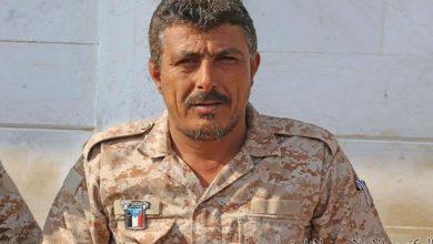 صورة العميد صالح السيد يوضح حقيقة أعتقال مقعد وأعمى في لحج