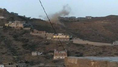 صورة قبائل حجور تحبط اعنف هجوم حوثي وقصف هو الأعنف يستهدف قرى المواطنين