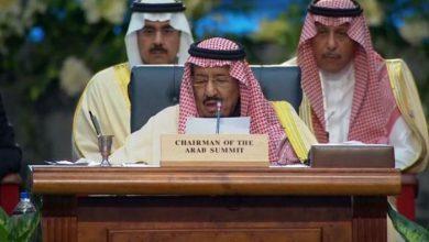 صورة العاهل السعودي: الحوثيون يتحملون مسؤولية الوضع القائم في اليمن