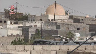 صورة قوات العمالقة تتصدى لهجوم مسلح شنته مليشيات الحوثي على الدريهمي