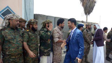 """صورة أول تصريح لـ """"ابو اليمامة"""" بعد وصوله العاصمة عدن  بشأن الاحداث الأخيرة"""