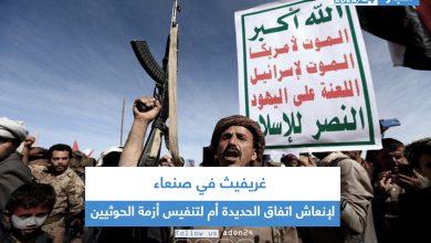 صورة غريفيث في صنعاء لإنعاش اتفاق الحديدة أم لتنفيس أزمة الحوثيين