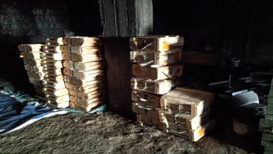 صورة بالصور.. القوات الجنوبية تغتنم اسلحة حوثية في الضالع