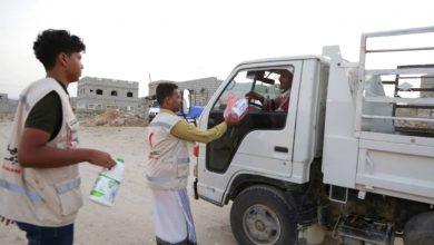 """صورة حملة """"إفطار صائم"""" الإماراتية تغيث 20 ألفاً في حضرموت"""