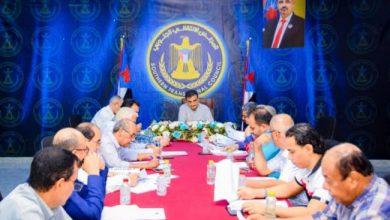 صورة الأمانة العامة للانتقالي تعقد اجتماعها الدوري