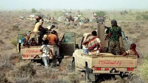 صورة الحديدة: قوات العمالقة تكسر محاولة تسلل حـوثي بمديرية حيس