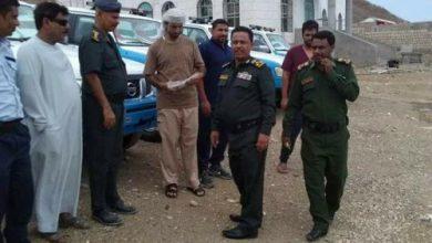 صورة مراكز الشرطة بسقطرى تتسلم دفعة سيارات جديدة من دولة الامارات