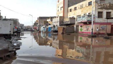 صورة لجنة الاغاثة للانتقالي تناقش مواجهة اضرار الامطار في العاصمة عدن