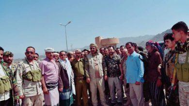 صورة الرئيس الزُبيدي: قواتنا هي السيّاج القوي والأمين لحدودنا في مواجهة مطامع الحوثيين والمتحالفين معهم