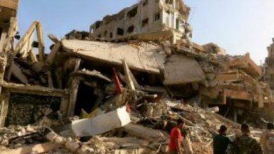 صورة سقوط ضحايا مدنيين في استهداف حوثي بشمال الضالع