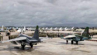 صورة هجوم صاروخي على مطار التيفور العسكري في حمص