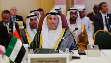صورة قرقاش: إعلام قطر يروج لأخبار كاذبة حول وجودي بالخرطوم