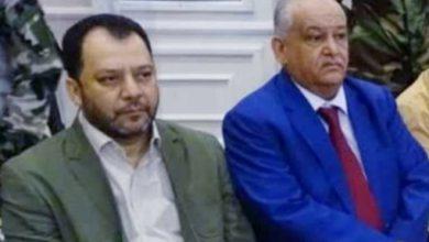 صورة الكاف والوالي يطمئنان على صحة الأستاذ عبدالرحمن يحيى والدكتور صالح العوذلي