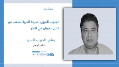 صورة الجنوب العربي: صرخة الحرية لشعب غير قابل للذوبان في الآخر