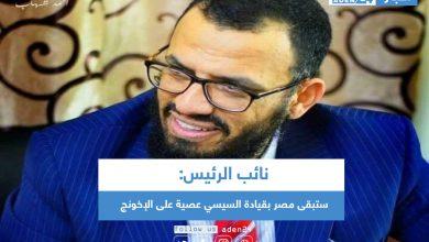 صورة نائب الرئيس: ستبقى مصر بقيادة السيسي عصية على الإخونج