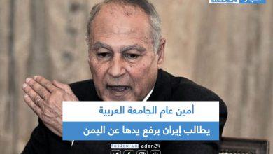 صورة أمين عام الجامعة العربية يطالب إيران برفع يدها عن اليمن