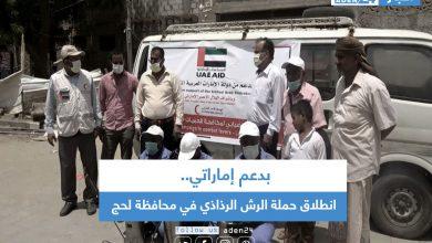 صورة بدعم إماراتي.. انطلاق حملة الرش الرذاذي في محافظة لحج