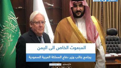 صورة المبعوث الخاص الى اليمن يجتمع بنائب وزير دفاع المملكة العربية السعودية