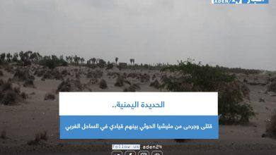 صورة الحديدة اليمنية.. قتلى وجرحى من مليشيا الحوثي بينهم قيادي في الساحل الغربي