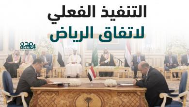 صورة إنفوجرافيك .. التنفيذ الفعلي لاتفاق الرياض
