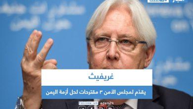 صورة غريفيث يقدّم لمجلس الأمن 3 مقترحات لحل أزمة اليمن