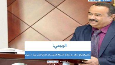 صورة الربيعي: تنظيم الإخوان تمكن من امتلاك السلطة بالمؤسسات الأمنية عقب ثورة 11 فبراير