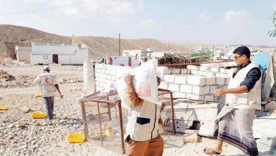 صورة بالأرقام.. تعرف على حجم مساعدات الإمارات لحضرموت خلال شهر