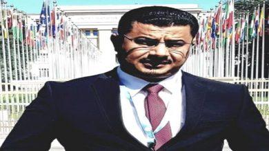 صورة صلاح بن لغبر معلقا على السفير ال جابر: نؤيد إجبار مليشيات الاخونج على الانخراط في الحرب ضد الحوثي