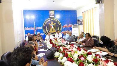 صورة اللواء بن بريك يترأس اجتماعاً استثنائياً للهيئة الإدارية للجمعية الوطنية