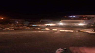 """صورة حضرموت.. محتجون يحرقون الاطارات في الشحر"""" وهذا هو السبب"""""""