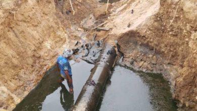 صورة شبوة.. أهالي الغيل يحذِّرون من كارثة بيئية بسبب تسرب نفط خام