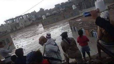 صورة جراء سيول الأمطار غرق أسرة بالكامل في مأرب اليمنية