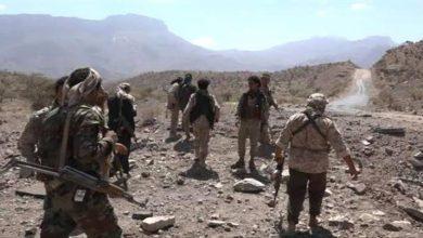 صورة القوات الجنوبية في الضالع تسيطر على مرتفعات هامة في الفاخر