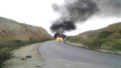 صورة القوات الجنوبية تستهدف تعزيزات مليشيات الإخوان في طريقها إلى أبين وسقوط قتلى وجرحى