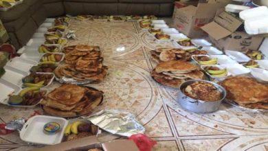 صورة الشعيب تسيير أكبر قافلة إفطار شعبية لجبهات الضالع
