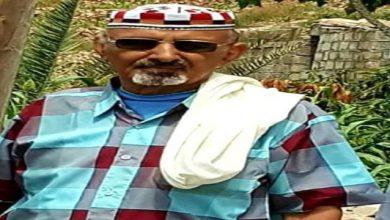 صورة انتقالي سرار يعزي في وفاة الشيخ علي حيدرة الشنبكي