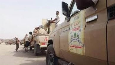 صورة ألوية العمالقة تدفع بتعزيزات عسكرية إلى #أبين