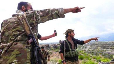 صورة القوات الجنوبية بالضالع تمنع قناة إخوانية من تصوير الجبهات