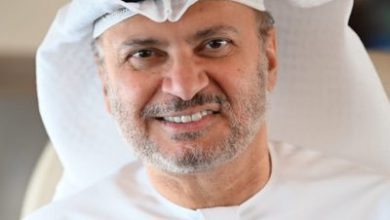 صورة قرقاش ردا على اتهامات وزير الخارجية اليمني: مؤسف أن تعلقوا تقصير حكومتكم على شماعة الإمارات!